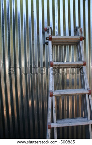 Extension Ladder Stock Photos Images Amp Pictures