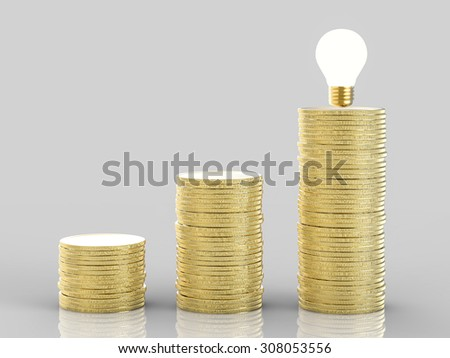 ladder to success concept - stock photo
