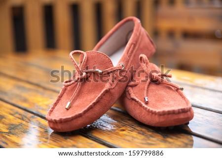 Ladies Boots - stock photo
