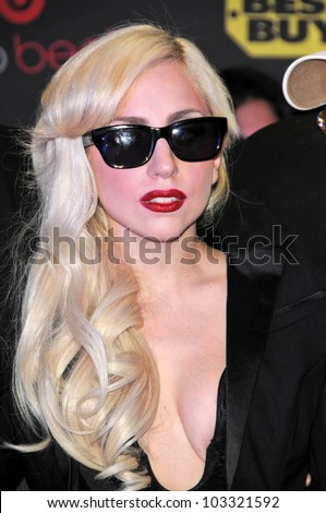 "Lady Gaga at a signing for the CD ""The Fame Monster,"" Best Buy, Los Angeles, CA. 11-23-09"