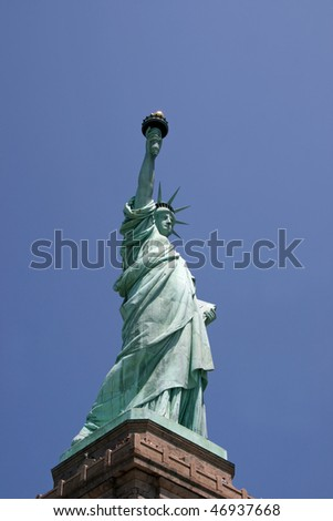 Lady Liberty. NYC - stock photo