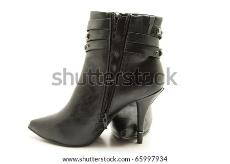 Lady shoe with heel