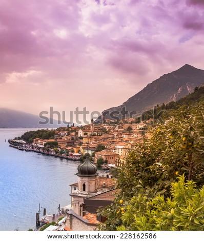 Lago di Garda - stock photo