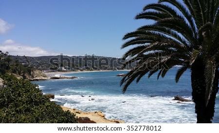 Laguna Beach, Orange County, California - stock photo