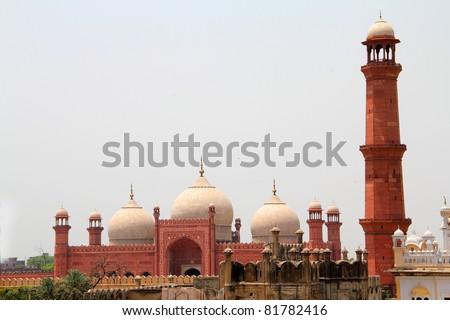 Lahore Skyline - stock photo