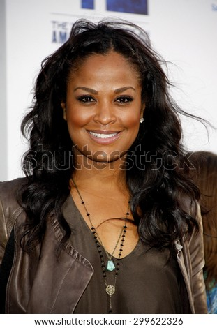 "Laila Ali at the ""42"" Los Angeles Premiere at TCL Chinese Theater on April 9, 2013 in Hollywood, California."