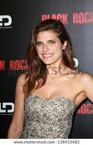 "Lake Bell at the ""Black Rock"" Los Angeles Special Screening, Arclight, Hollywood, CA 05-08-13"