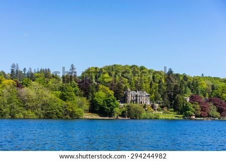 Lake Buttermere, Lake District Cumbria England - stock photo