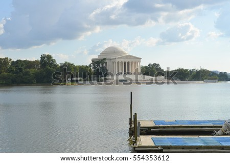 Lake in Washington DC.