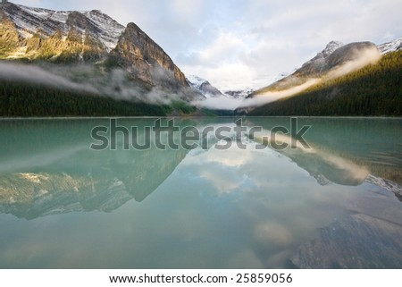 Lake Louise - stock photo