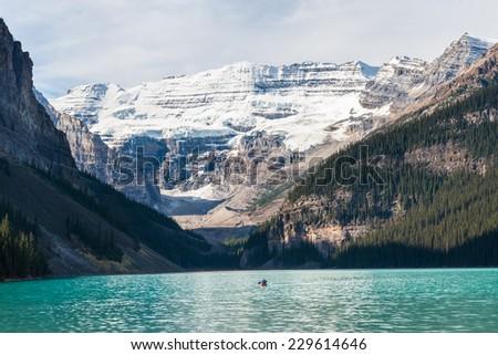Lake louise, Banff national park, Canada - stock photo
