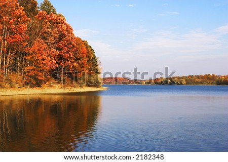 Lake Marburg - York County, Pennsylvania - stock photo