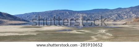 Lake national park Arizona - stock photo