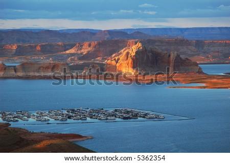 Lake Powell, Utah - stock photo