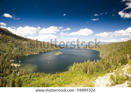 Lake Tahoe, California, United States of America. - stock photo