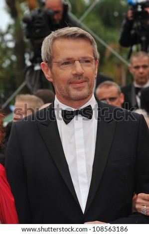 "Lambert Wilson at the gala screening for the French movie ""You Ain't Seen Nothing Yet"" in competition at the 65th Festival de Cannes. May 21, 2012  Cannes, France Picture: Paul Smith / Featureflash"