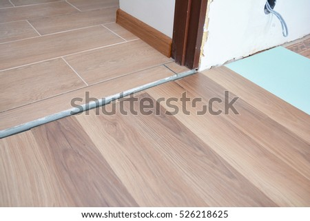 Laminate Wood Flooring Laminate Flooring Floor Stock Photo Royalty