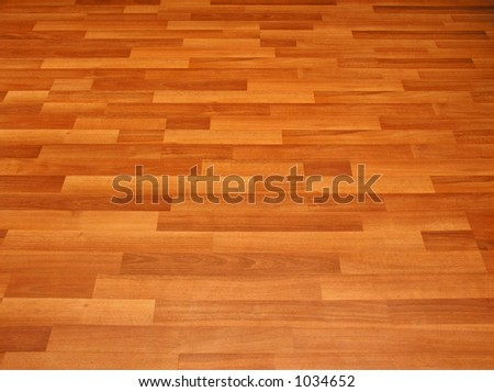 laminated flooring by angle - stock photo