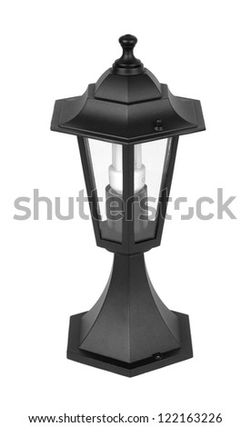 Lamp Isolated - stock photo