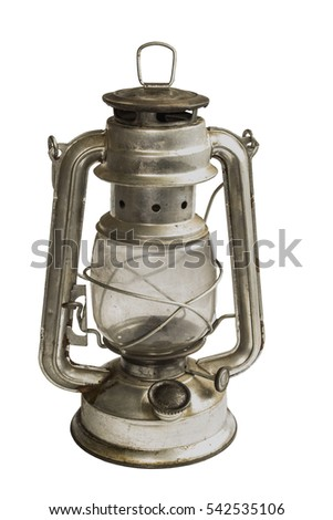 Lamp oil old