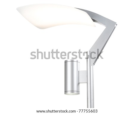 Lamppost for home, park , street or building - stock photo