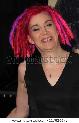 """Lana Wachowski at the """"Cloud Atlas"""" Los Angeles Premiere, Chinese Theater, Hollywood, CA 10-24-12 - stock photo"""