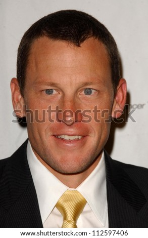 """Lance Armstrong at the """"A Night at the Casbah"""" Gala hosted by Phase One. Beverly Wilshire Four Seasons Hotel, Beverly Hills, CA. 04-19-07 - stock photo"""