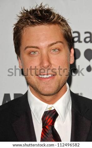 Lance Bass at the 18th Annual GLAAD Media Awards. Kodak Theatre, Hollywood, CA. 04-14-07 - stock photo