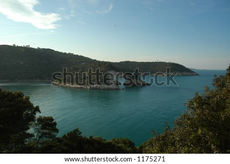 Land and sea and mountains all together here in Gargano National Park in Southern Italy