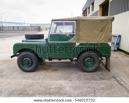 Land Rover series one short wheel base