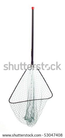 Landing net - stock photo
