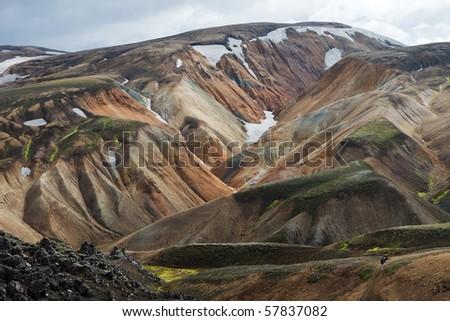 Landmannalaugar - Iceland - stock photo
