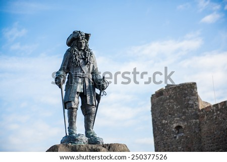 Landmark in Belfast, Northern Ireland, United Kingdom - stock photo