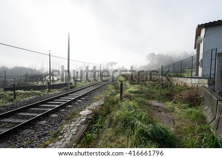 Landscape at Marco de Canaveses, Portugal - stock photo