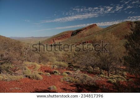 landscape australia - stock photo