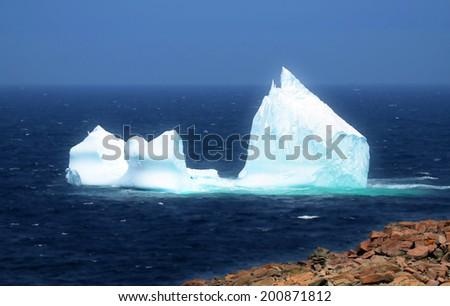 Landscape Cape Bonavista Newfoundland and Labrador Canada - stock photo