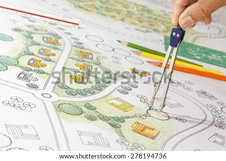 Landscape Architecture Drawings landscape architecture stock images, royalty-free images & vectors