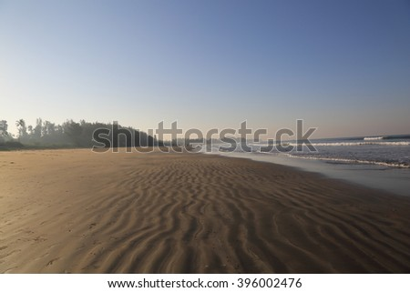landscape Goa  - stock photo