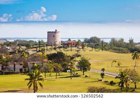 Landscape of Varadero, Cuba - stock photo
