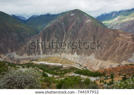 Landscape of Yunnan Province in China