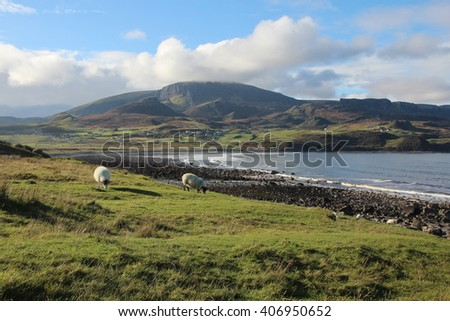 Landscape on Isle of Skye