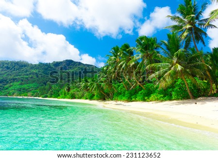 Landscape Panorama Sea  - stock photo