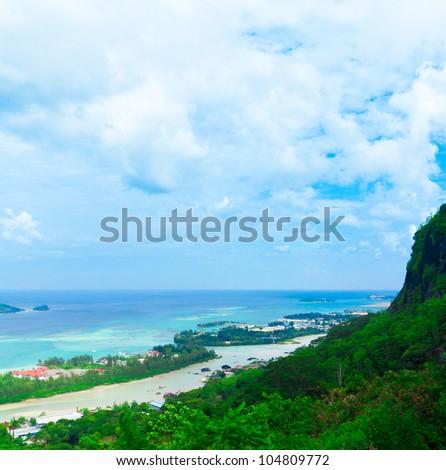 Landscape Panorama View - stock photo