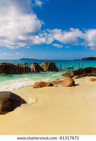 Landscape Scene Waves - stock photo