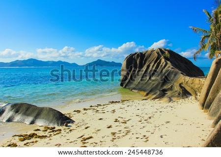 Landscape Summer Paradise  - stock photo