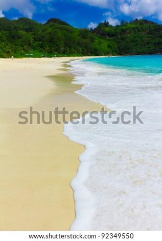 Landscape Tranquility Summertime - stock photo