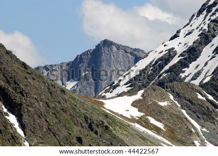 landscape with mountains, Russia, Gorny Altai