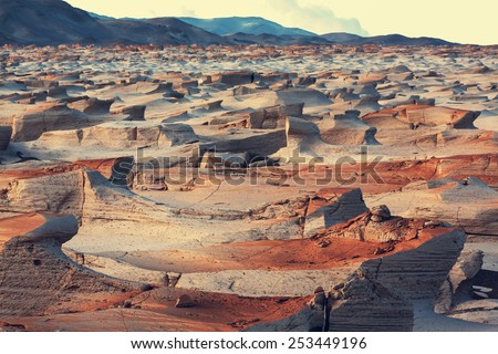 Landscapes in Northern Argentina - stock photo