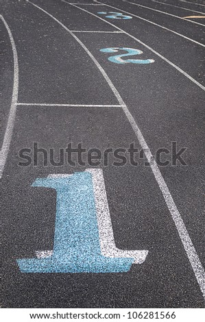 Lane One - Running Track