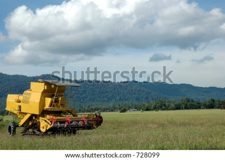 Langkawi Harvester & Paddy Field